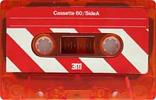 3M-C60-23-04-2011 audio cassette tape
