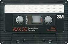 3m_avx30_080417 audio cassette tape