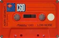 AGFA-C60-4-23-04-2011 audio cassette tape