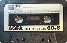 AGFA-STEREOCHROM-60+6_MCiPjH_121006 audio cassette tape