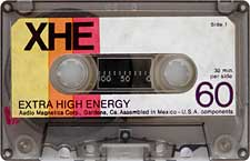 AUDIO-MAGNETICS-XHE-60-23-04-2011 audio cassette tape