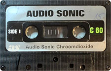 AUDIO-SONIC-C60_MCiPjH_121006 audio cassette tape