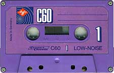 Agfa_Ferro_C-60 audio cassette tape
