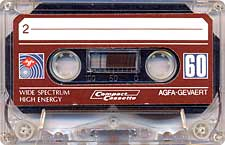 Agfa_Roscata audio cassette tape