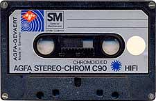 Agfa_Stereo_chrom_c90_hi_fi_mai_noua audio cassette tape