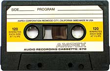 Ampex_670_120min audio cassette tape