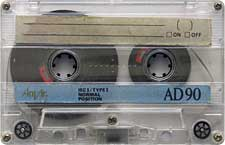 Anvic audio cassette tape
