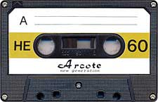 Arcote_HE_60_071130 audio cassette tape