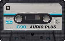 Audio_plus audio cassette tape