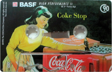 BASF Limited Ed. Coca Cola 90 B Side_MCiPjH_121006 audio cassette tape