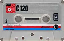 BASF-C120-23-04-2011 audio cassette tape