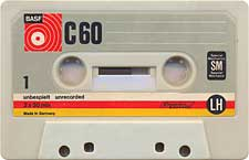 BASF_C60_Primul_SM_071130 audio cassette tape