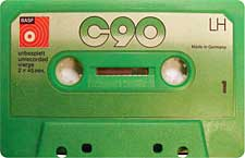 BASF_C90_111227 audio cassette tape