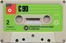 BASF_C90_Olimpiada_071128 audio cassette tape