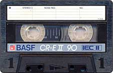 BASF_CR_E-II_C90_071128 audio cassette tape