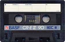 BASF_CR_E-II_C90_Varianta_071128 audio cassette tape