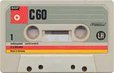 BASF_C_60_LH_Primul_071130 audio cassette tape
