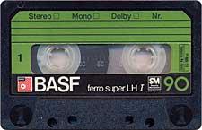 BASF_Ferro_Super_LH_I_C90_Verde_071128 audio cassette tape