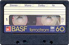 BASF_Ferrochrom_C60_tip_mai_nou_071128 audio cassette tape