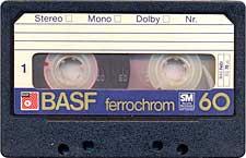 BASF_Ferrochrom_C60_tip_mai_nou_071128 audio cassette tape