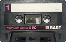 BASF_ReferenceSuperII_90_111227 audio cassette tape