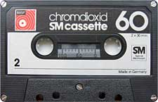 BASF_SM_60_111227 audio cassette tape