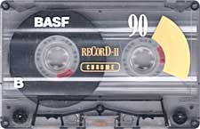 BASF_reCorD-II_90_111227 audio cassette tape
