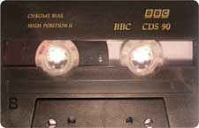 BBC-CDS-90-PIC audio cassette tape