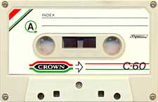 Crown_C60 audio cassette tape