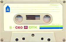 DTK_C60 audio cassette tape