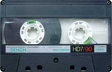 Denon-HD7-90a_111227 audio cassette tape