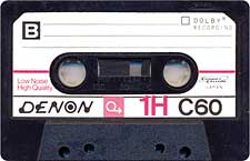 Denon_1H_C60_071130 audio cassette tape