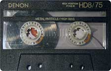 Denon_HD8_75_111227 audio cassette tape