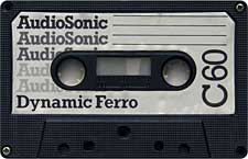 Dynamic audio cassette tape
