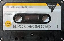 EUROCHROM-C60_MCiPjH_121006 audio cassette tape
