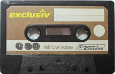 EXCLUSIV-C90-Brown_MCiPjH_121006 audio cassette tape