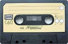 Europa_C60_111227 audio cassette tape
