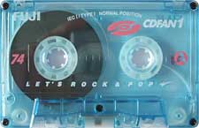 FUJI_CDFan1_111227 audio cassette tape