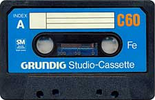 Grundig_C60 audio cassette tape
