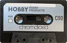 HOBBY-C90_MCiPjH_121006 audio cassette tape