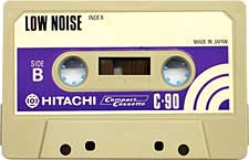 Hitachi_C90 audio cassette tape