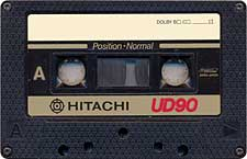 Hitachi_UD90_071130 audio cassette tape
