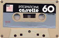 International_60_071130 audio cassette tape