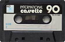 International_90 audio cassette tape