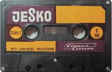 JESKO-C90_MCiPjH_121006 audio cassette tape