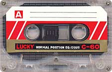 Lucky_C60_071128 audio cassette tape