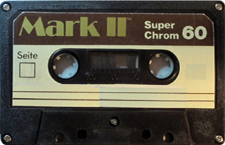 MARK II C60_MCiPjH_121006 audio cassette tape