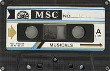 MSC-23-04-2011 audio cassette tape