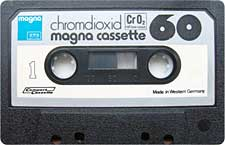 Magna_Chromdioxid_60_111227 audio cassette tape