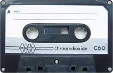 Mart_Chroomdioxide_C60_111227 audio cassette tape